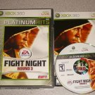 FIGHT NIGHT ROUND 3 100% COMPLETE XBOX 360