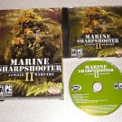MARINE SHARPSHOOTER II JUNGLE WARFARE BOXED PC CD