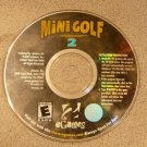 MINI GOLF MASTER 2 PC WIN E GAMES EVERYONE CD GAME