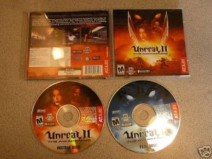 UNREAL II THE AWAKENING MATURE EPIC PC CD ROM