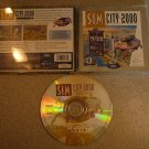 SIM CITY 2000 SPECIAL EDITION SIMCITY  PC CD ROM