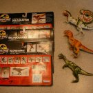 JURASSIC PARK LOT OF FIGURES DINOSAURS CARDS COLLECTION