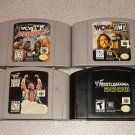 WWF WAR ZONE WCW NWO TOUR 2000 5 GAMES N64 NINTENDO 64