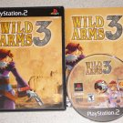 WILD ARMS 3 PS2 PLAYSTATION 2 100% COMPLETE
