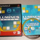 LUMINES PLUS PUZZLE FUSION PS2 PLAYSTATION 2 100%