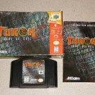 TUROK 2 SEED MATURE N64 NINTENDO 64 100% COMPLETE BOXED
