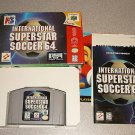 INTERNATIONAL SUPERSTAR SOCCER 64 N64 NINTENDO BOXED