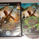 MEDAL OF HONOR RISING SUN PS2 PLAYSTATION 2 COMPLETE