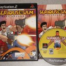 SERIOUS SAM NEXT ENCOUNTER PS2 PLAYSTATION 2 100%