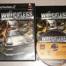 WRECKLESS YAKUZA MISSIONS PS2 100% COMPLETE PLAYSTATION
