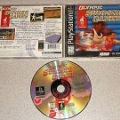 OLYMPIC SUMMER GAMES PS1 100% COMPLETE PLAYSTATION