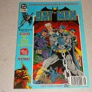BATMAN MAN BAT COMIC 80s ENGLISH EUROPEAN AUG 1989