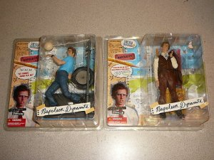 NAPOLEON DYNAMITE COLLECTION MCFARLANE TOYS 5 FIGS 12""