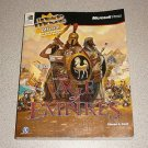 AGE OF EMPIRES 1 ORIGINAL STRATEGY GUIDE MICROSOFT BOOK