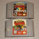POKEMON SNAP & STADIUM N64 NINTENDO 64 FUN 2 GAMES