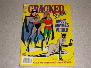 CRACKED MAGAZINE #288 MAR 1994 WAYNE'S WORLD BATMAN