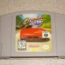 CRUISIN USA CRUIS'N USA N64 NINTENDO 64 FUN GAME