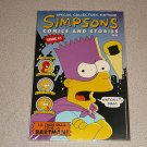 SIMPSONS COMICS & STORIES #1  SEALED POSTER COLLECTOR