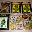 TEENAGE MUTANT TURLTES TMNT COMICS ISSUES 1-49 ORIGINAL