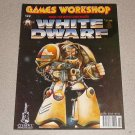 WHITE DWARF MAGAZINE #122 WARHAMMER GAMES WORKSHOP 1989