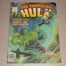 RAMPAGING HULK #7 MARVEL MAGAZINE COMIC INCREDIBLE