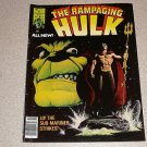 RAMPAGING HULK #5 MARVEL MAGAZINE COMIC SUB MARINER