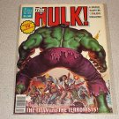 RAMPAGING HULK #13 MARVEL MAGAZINE COMIC INCREDIBLE