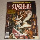 MARVEL PREVIEW MERLIN #22 VINTAGE MAGAZINE COMIC VF-NM