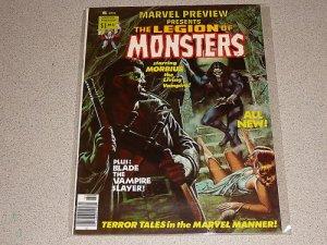 MARVEL PREVIEW LEGION OF MONSTERS #8 MAGAZINE COMIC