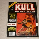 MARVEL PREVIEW KULL THE DESTROYER #19  MAGAZINE COMIC