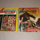 THRILLING ADVENTURE STORIES #1 & 2 MAGAZINES COMIC