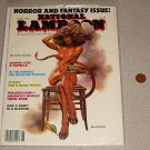 NATIONAL LAMPOON JUNE 1986 HORROR FANTASY SPEC MAGAZINE