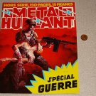 METAL HURLANT SPECIAL GUERRE MAGAZINE FRENCH HEAVY META