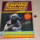 EMPIRE STRIKES BACK POSTER MONTHLY #3 MAGAZINE YODA 80