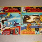 BATTLE OF THE PLANETS 2-6 FOREIGN MAGAZINE COMICS 1979