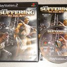 SUFFERING 1 & 2 MATURE PS2 100% COMPLETE 2 GAMES TIES