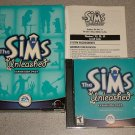 THE SIMS UNLEASHED BIG BOX PC CD BOXED 100% COMPLETE