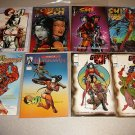 SHI COMICS ISSUES COLLECTION 42 ISSUES 1-12 LOT RUNS