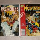 THE WOLVERINE SAGA BOOK 1 & 2 COMIC TPB GRAPHIC NOVEL