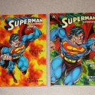 SUPERMAN DOOMSDAY BOOK 1 & 2 DC COMIC TPB GRAPHIC NOVEL
