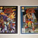 THE BEST OF STREET FIGHTER #1 & 2 COMICS MALIBU