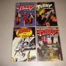 TERRY AND THE PIRATES COMICS 4 ISSUES REMAKES ACG 1998