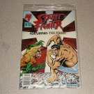 STREET FIGHTER #3 WITH POSTER COMICS SEALED MALIBU