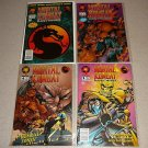 MORTAL KOMBAT BLOOD & THUNDER #1 2 4 5 COMICS SET