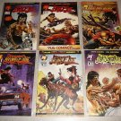 BRUCE LEE 1-6 MALIBU COMICS COMPLETE SET KARATE 1994