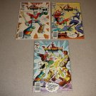 VOLTRON 1-3 MODERN COMICS COMPLETE SET 80s CARTOON