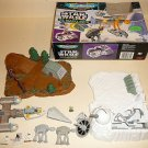 STAR WARS MICRO MACHINES LOT BOXED HOTH ENDOR 55 + FIGS