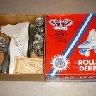 ROLLER DERBY STREET KING BOXED ROLLER SKATES WHITE 13