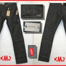 "$69.50 LEVI'S SLIM STRAIGHT 514 ""RIGID MALWA"" DENIM JEANS W29 L32 (Actual size: 29 33)"
