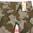 LEVI'S CHINO REGULAR FIT GINGHAM CAMO CAMOUFLAGE TWILL TROUSER PANTS W32 L32 (Actual size 32 31)